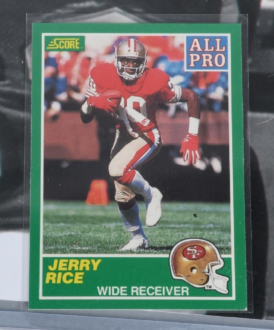 """49ers JERRY RICE AUTOGRAPHED 20""""X16"""" PICTURE - 4"""