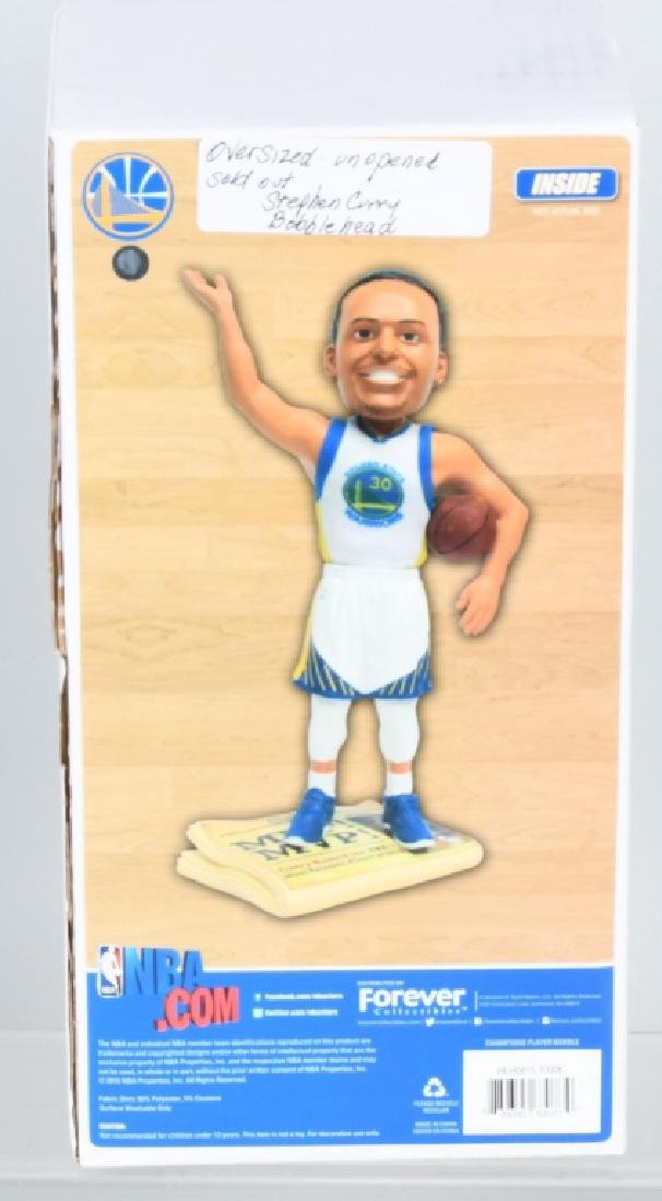 2- STEPHEN CURRY OVERSIZED BOBBLE HEADS MIB - 2