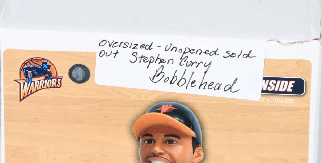 2- STEPHEN CURRY OVERSIZED BOBBLE HEADS MIB - 5