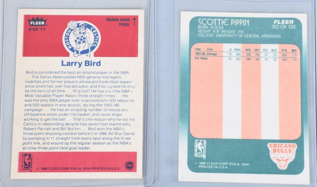 BASKETBALL CARDS BIRD, JOHNSON, KAREEM, & MORE - 3