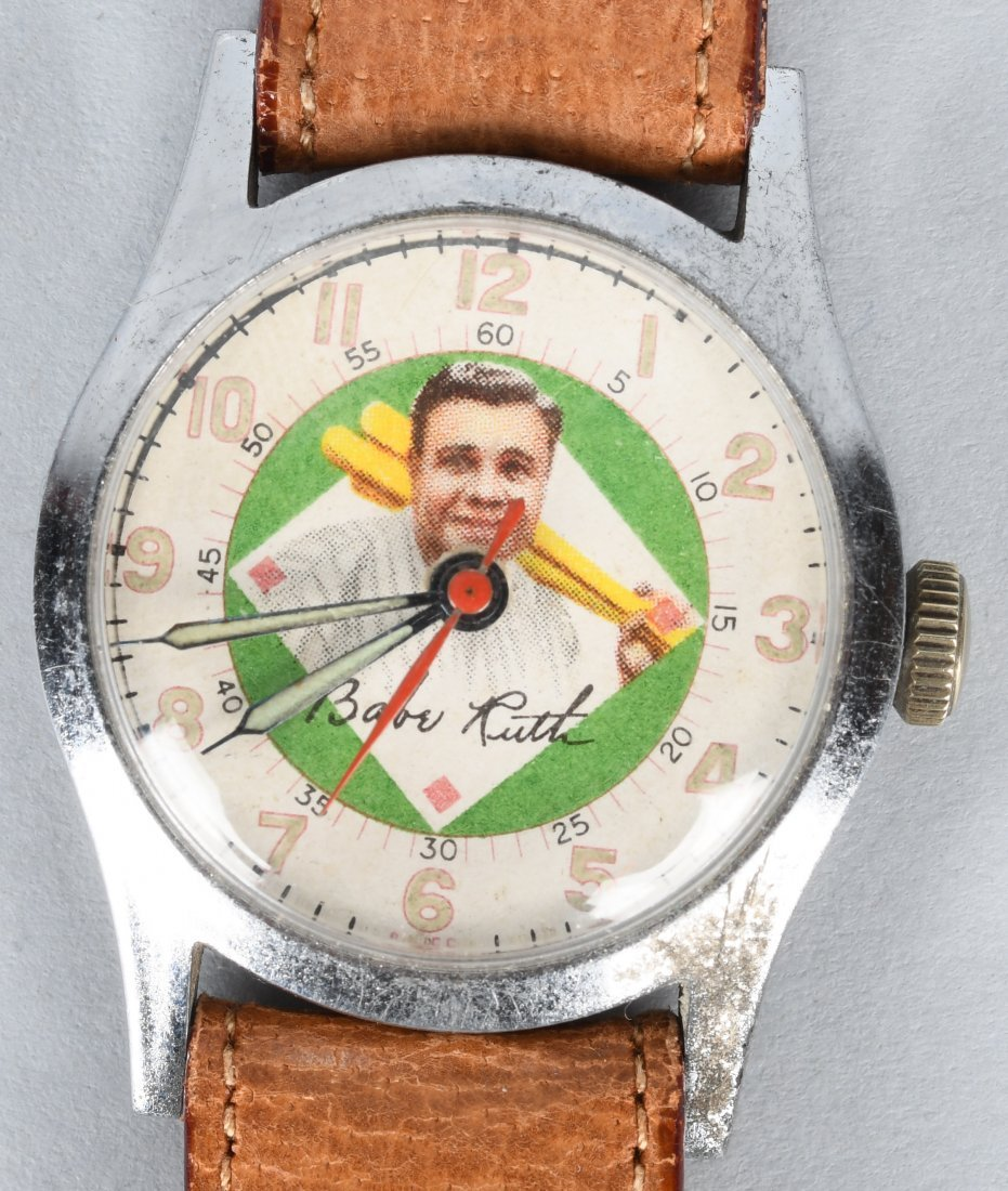 1948 EXACTA BABE RUTH WRIST WATCH