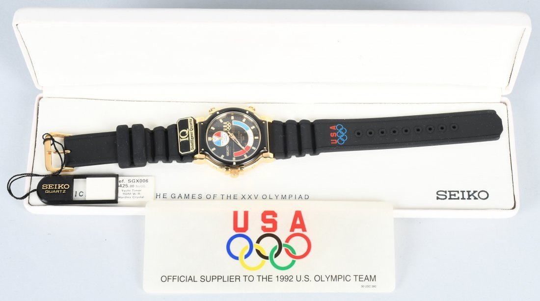 SEIKO 1992 OLYMPICS WATCH MIB