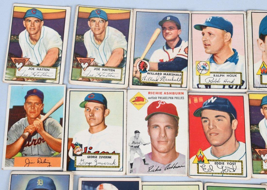 25- 1950s BASEBALL CARDS - 2