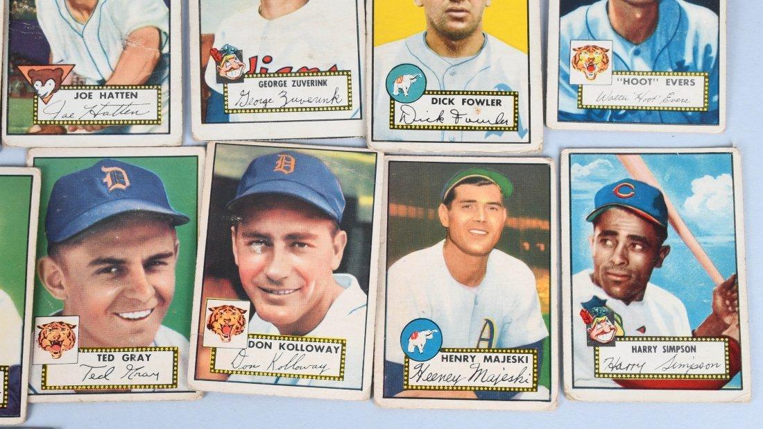 25- 1950s BASEBALL CARDS - 4