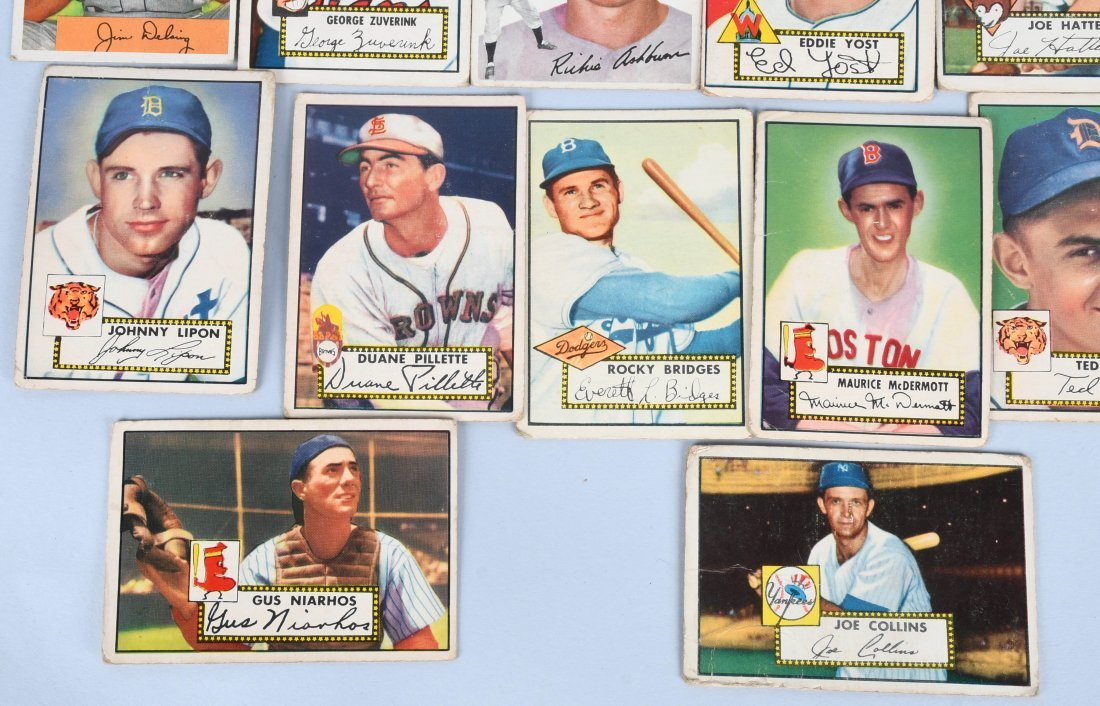 25- 1950s BASEBALL CARDS - 5