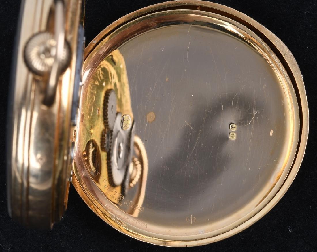 CHARLES FRODSHAM 18K GOLD POCKET WATCH - 7