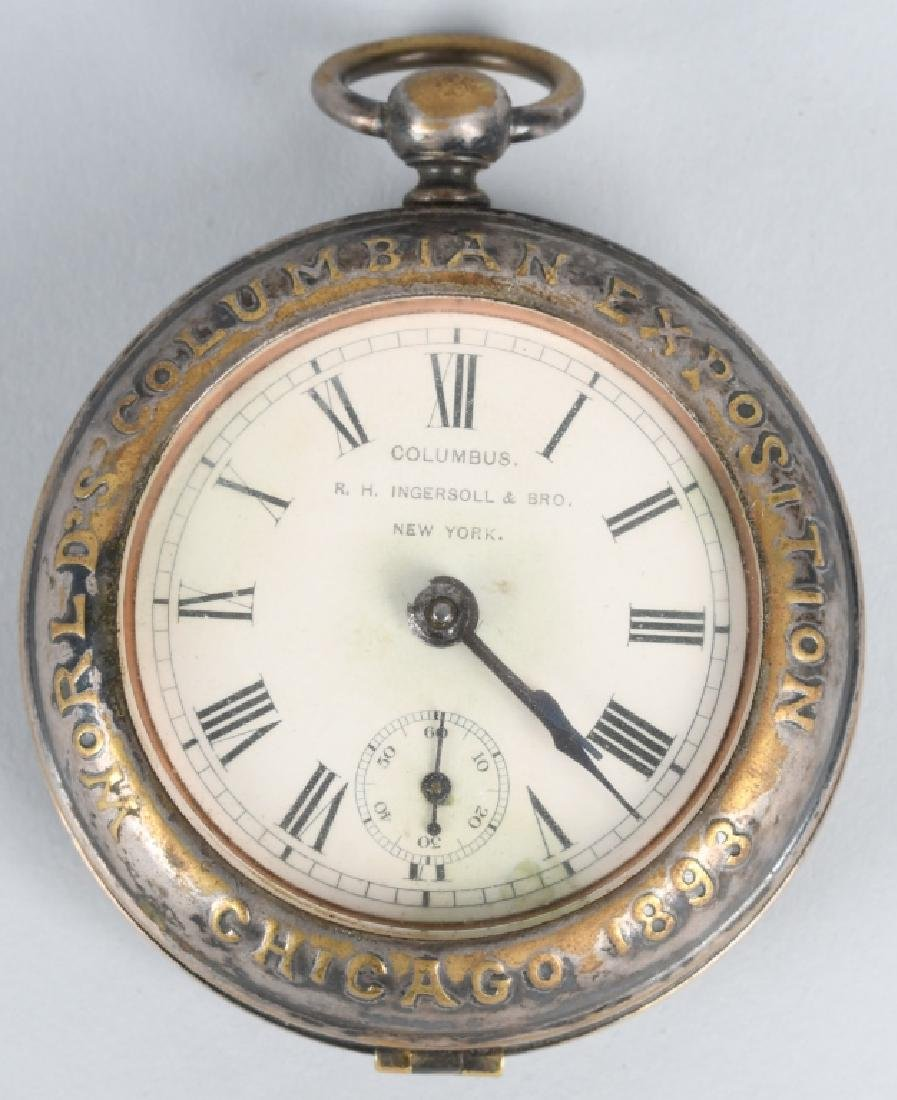CHICAGO COLUMBIAN EXPOSITION POCKET WATCH