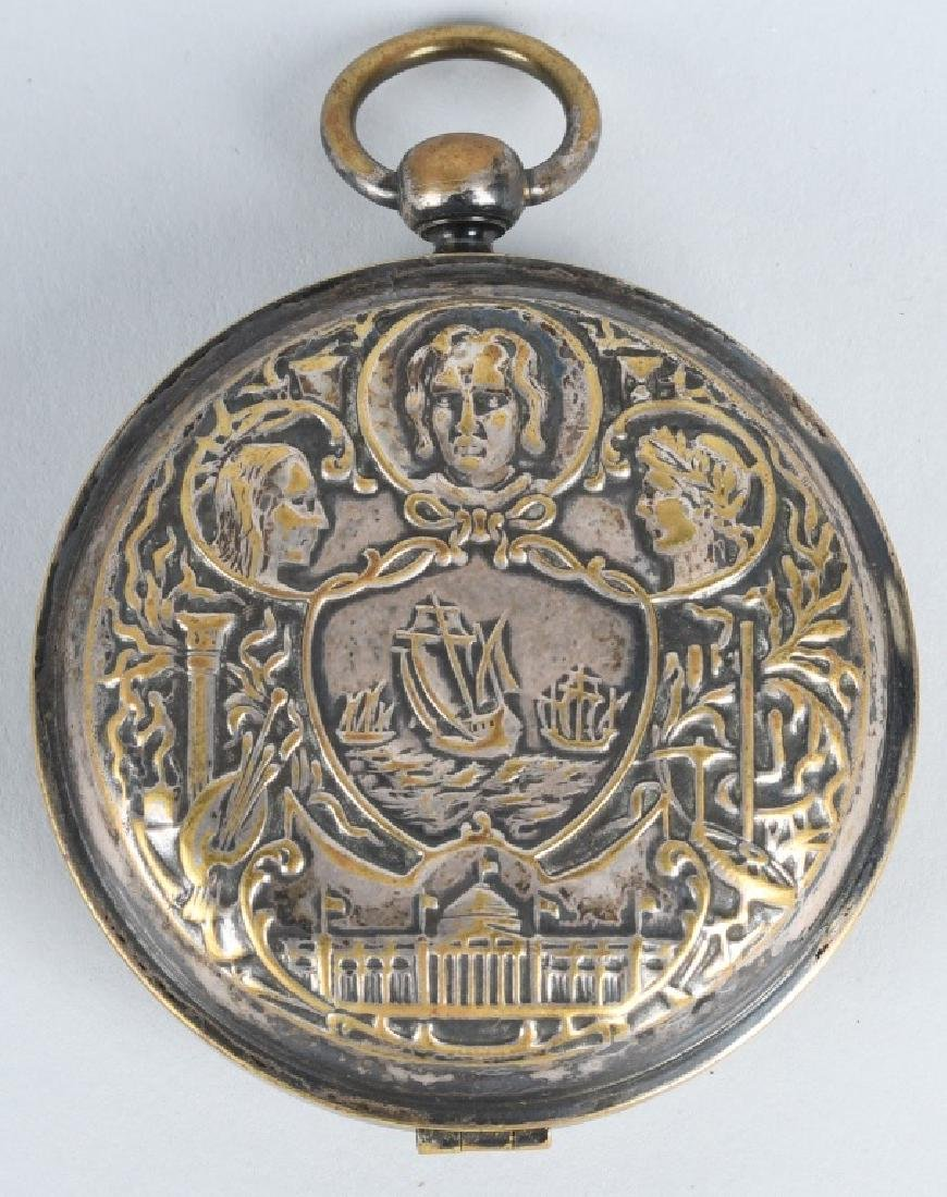 CHICAGO COLUMBIAN EXPOSITION POCKET WATCH - 4