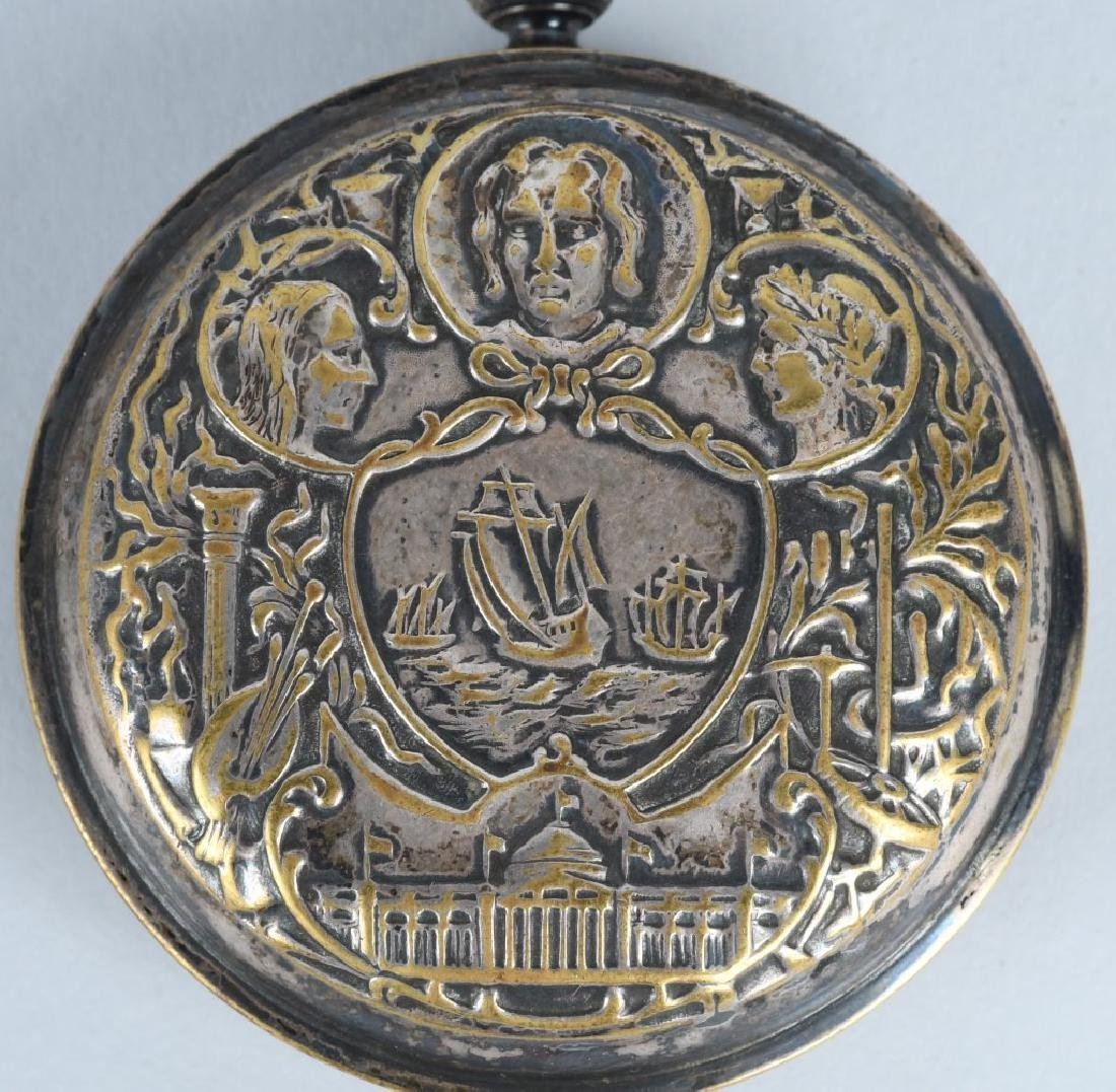 CHICAGO COLUMBIAN EXPOSITION POCKET WATCH - 5