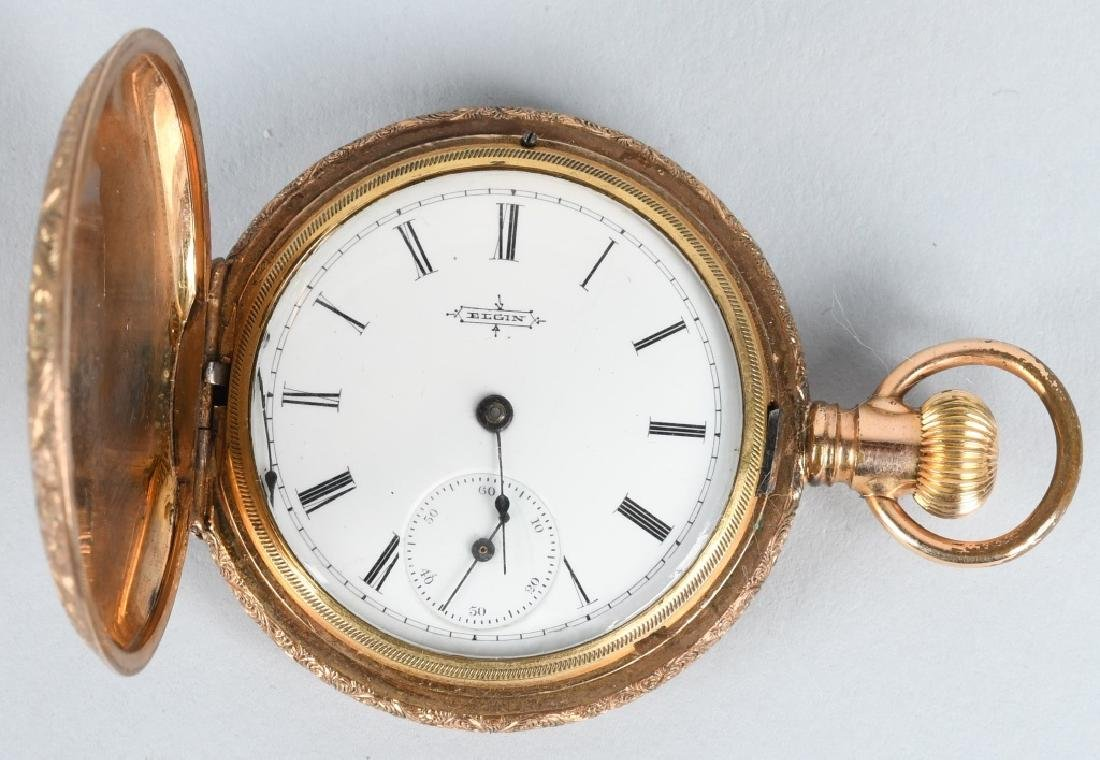 COLUMBIAN EXPOSITION GOLD FILLED POCKET WATCH