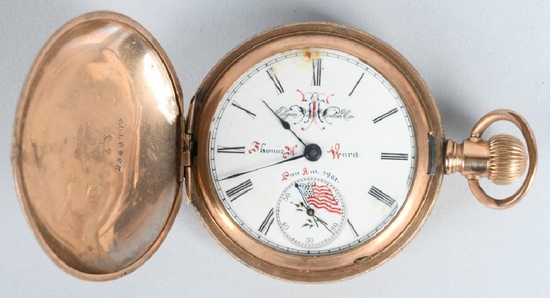 1901 PAN-AMERICAN EXPO MENS POCKET WATCH