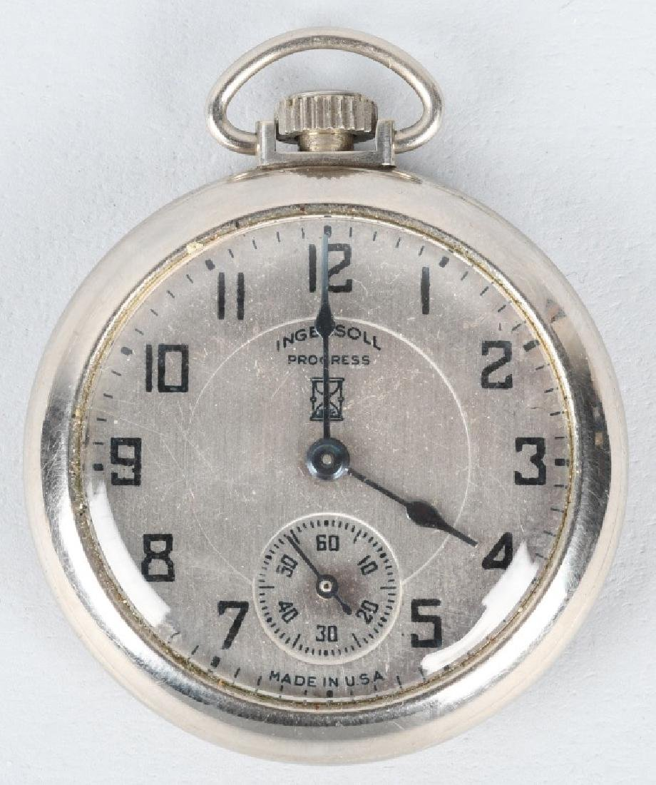 INGERSOLL CENTURY OF PROGRESS POCKET WATCH