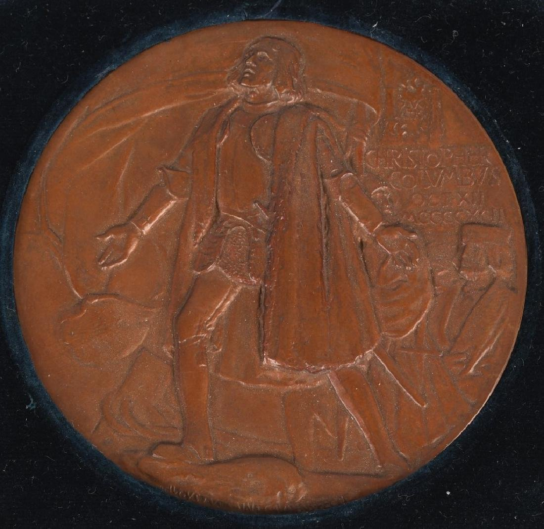 1893 COLUMBIAN EXPOSITION AWARD MEDAL - 2