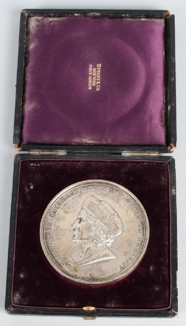 TIFFANY & CO. COLUMBIAN EXPOSITION SILVER MEDAL