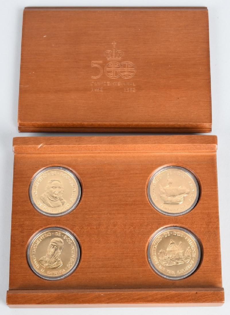 1492-1992 500 QUINCENTENNIAL COIN SET w/ BOX