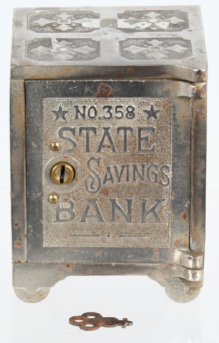 NICHOLS CO. WORLDS FAIR FERRIS WHEEL SAFE BANK
