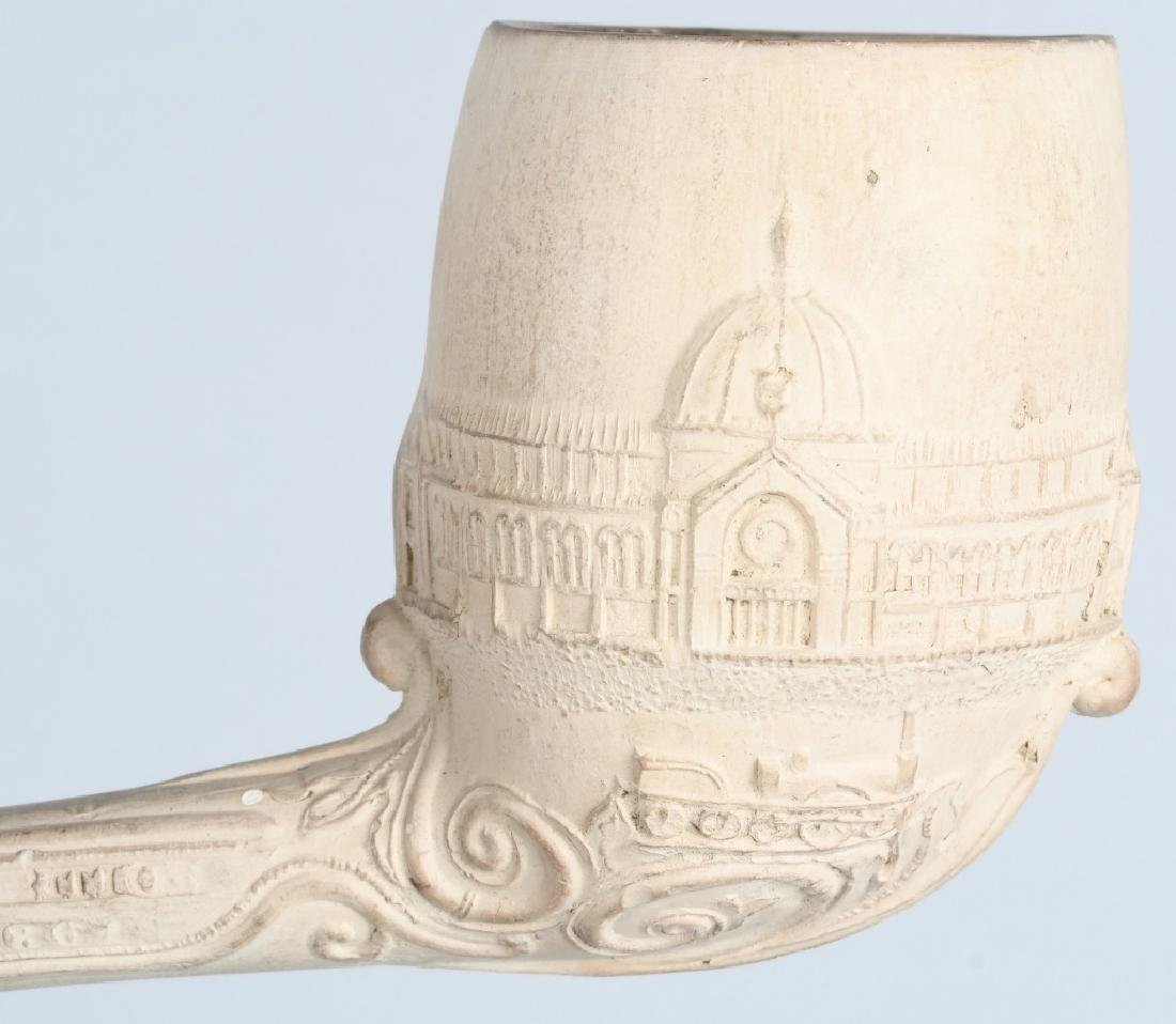 2- COLUMBIAN EXPOSITION CLAY PIPES - 3
