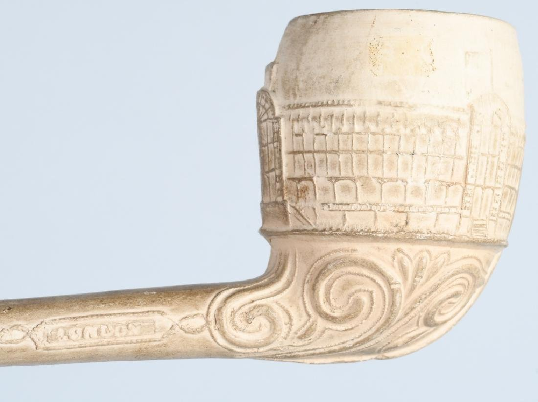 2- COLUMBIAN EXPOSITION CLAY PIPES - 5