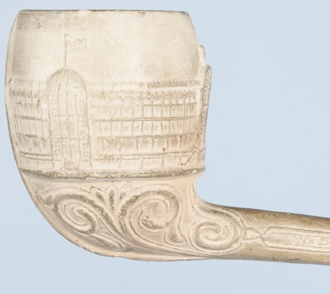 2- COLUMBIAN EXPOSITION CLAY PIPES - 6