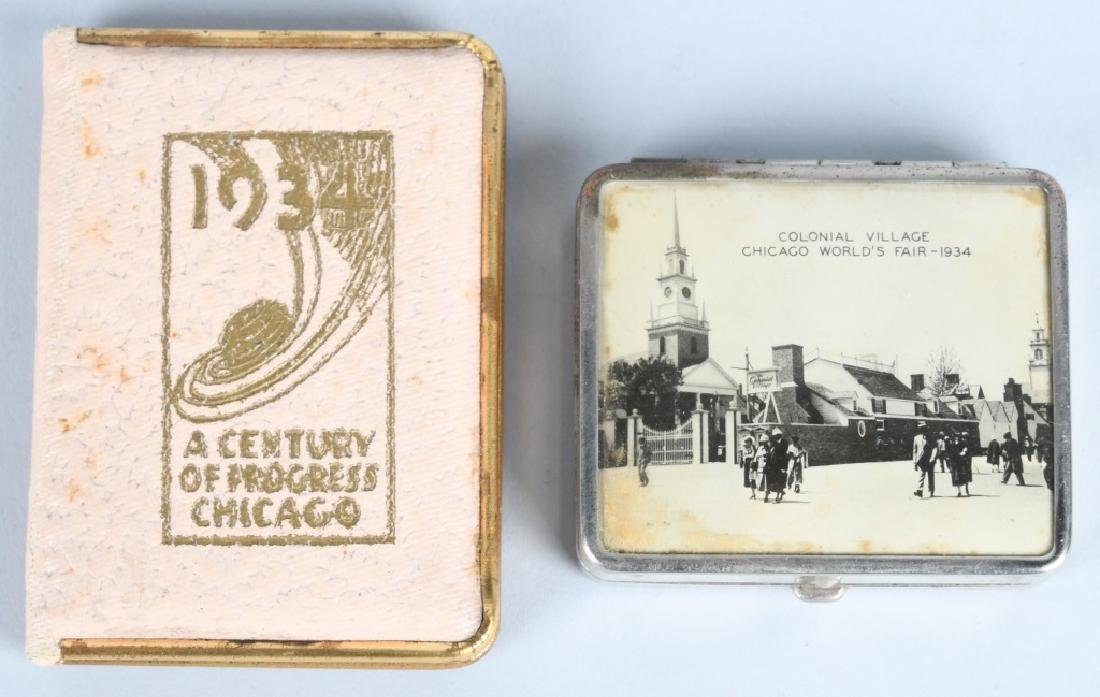8- 1933 CHICAGO WORLDS FAIR COMPACTS - 5