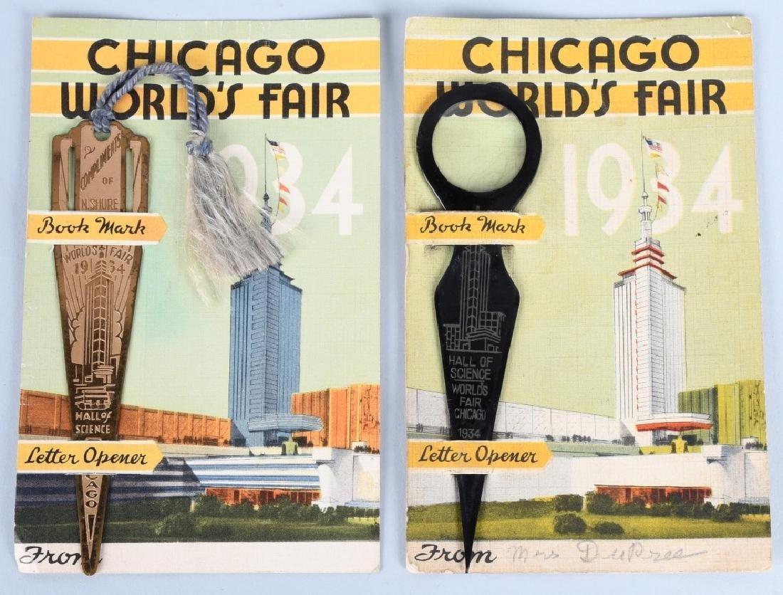 5- 1933 CHICAGO WORLDS FAIR SOUVENIRS - 3