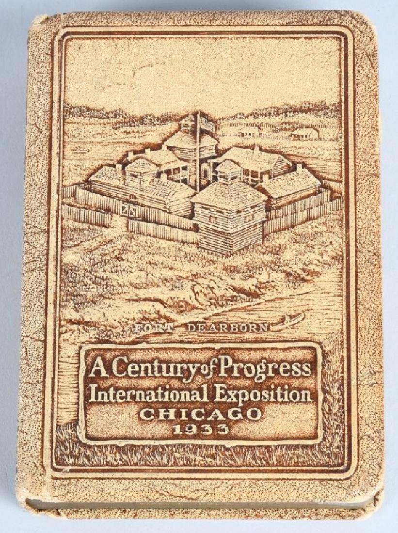 3- 1933 CHICAGO WORLDS FAIR SOUVENIRS - 3