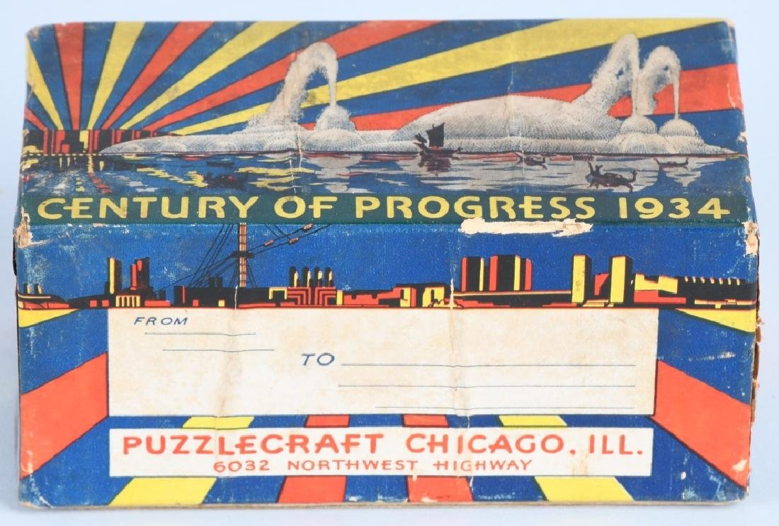 3- 1933 CHICAGO WORLDS FAIR SOUVENIRS - 5