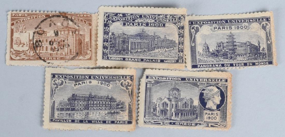 10- 1900 PARIS EXPOSITION STAMPS - 3