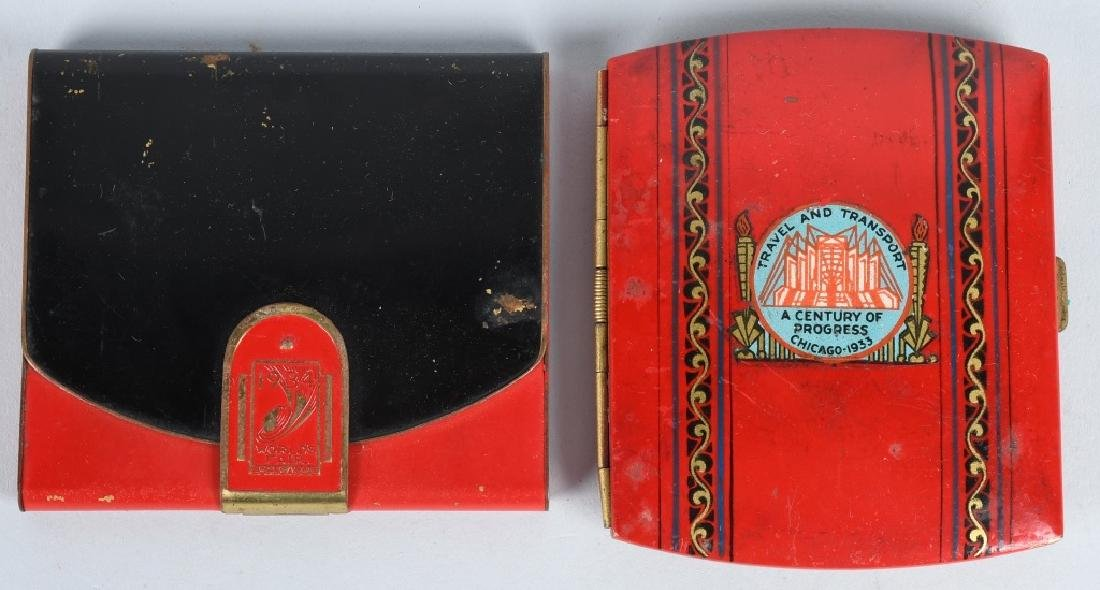 7- 1933 CHICAGO WORLDS FAIR CIGARETTE CASES - 4