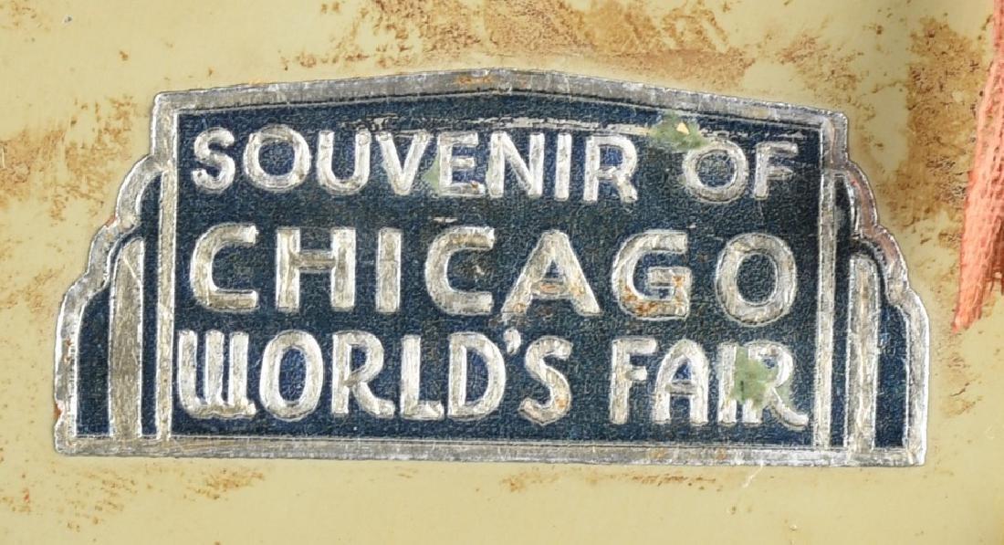 1933-34 CHICAGO WORLD'S FAIR RICKSHAW SOUVENIR - 4