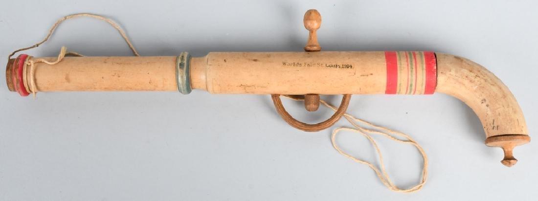1904 ST LOUIS WORLDS FAIR TOY POP GUN - 2