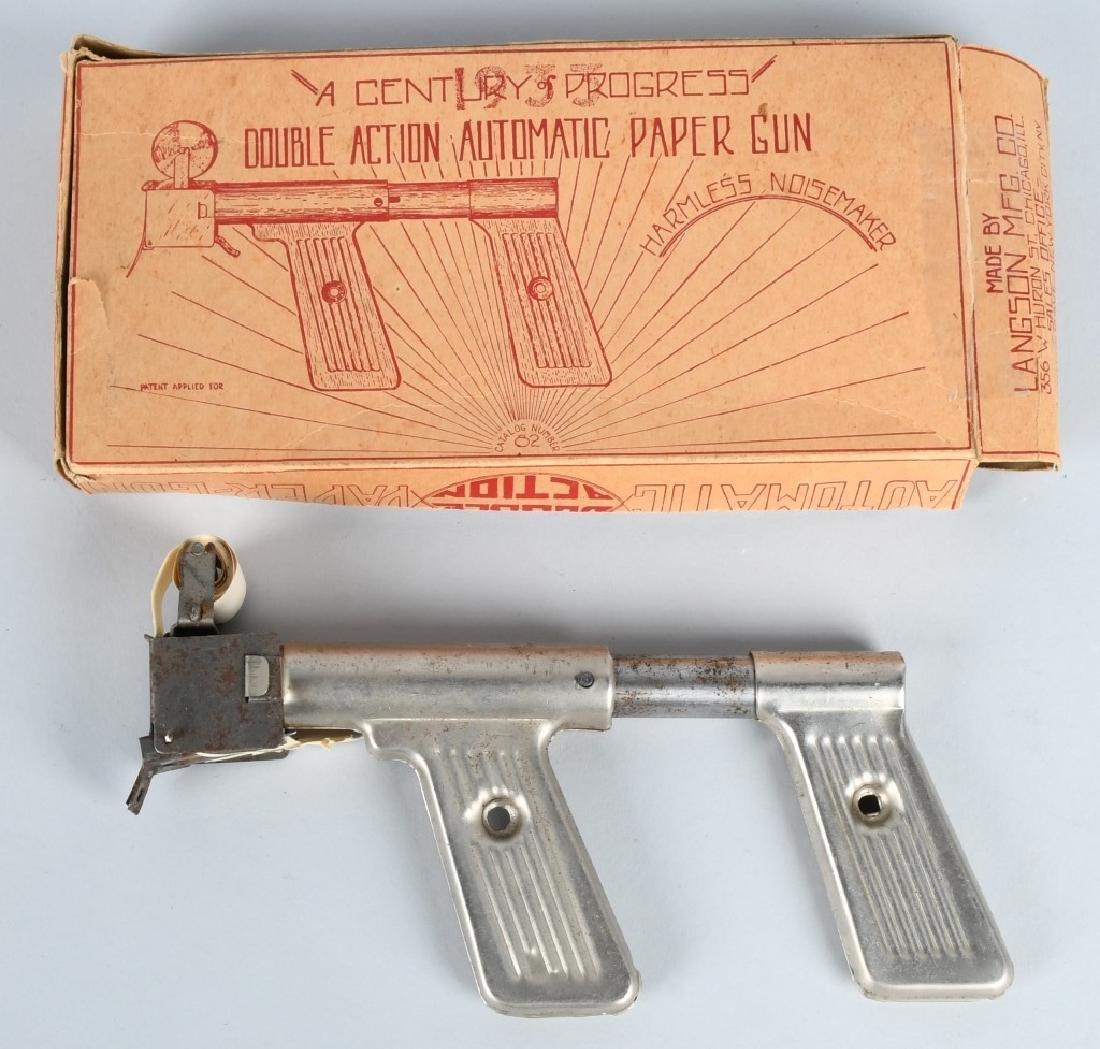 1933 CHICAGO WORLDS FAIR PAPER GUN w/ BOX