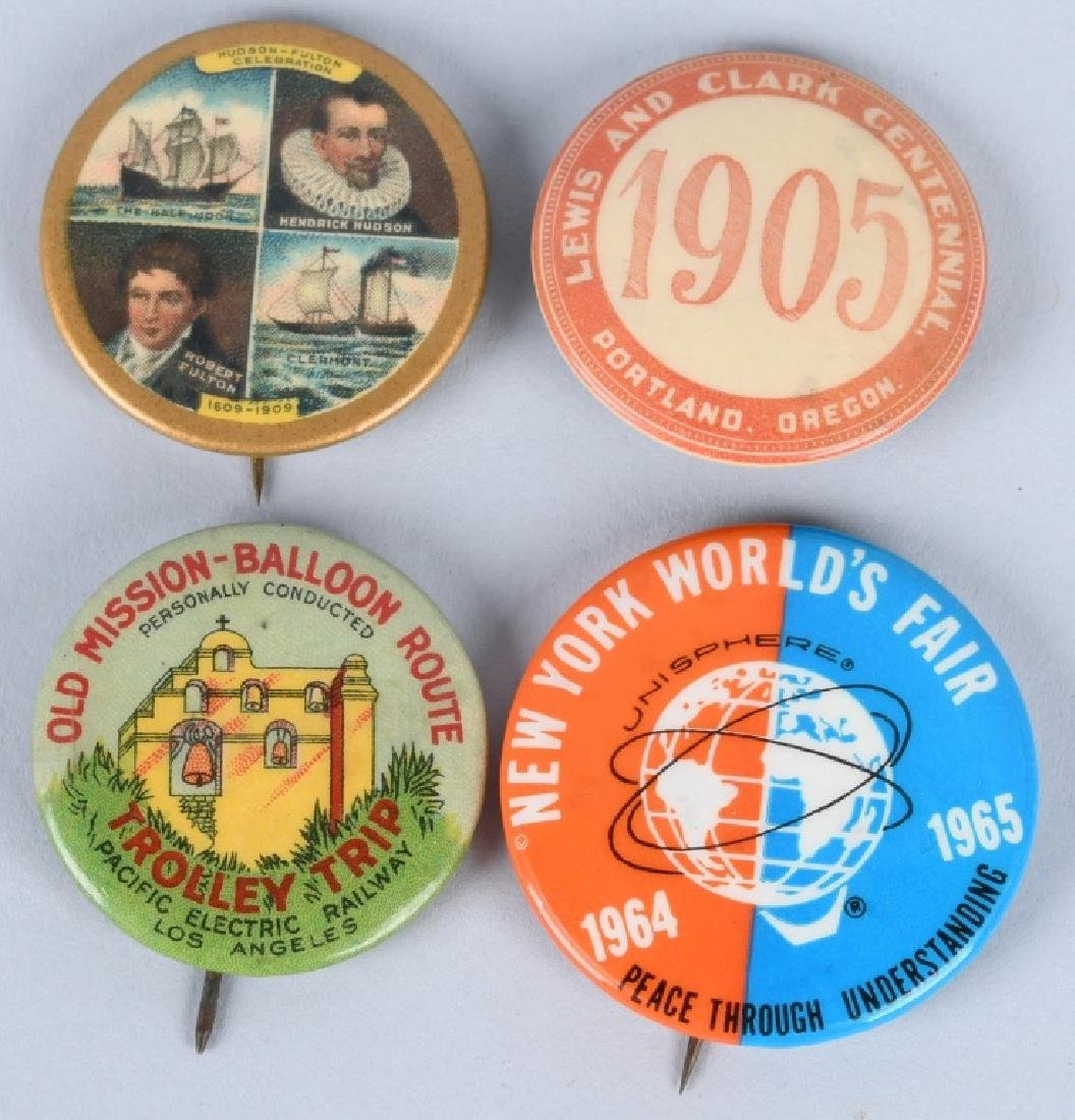 LEWIS & CLARK EXPOSITION BUTTONS & MORE - 4