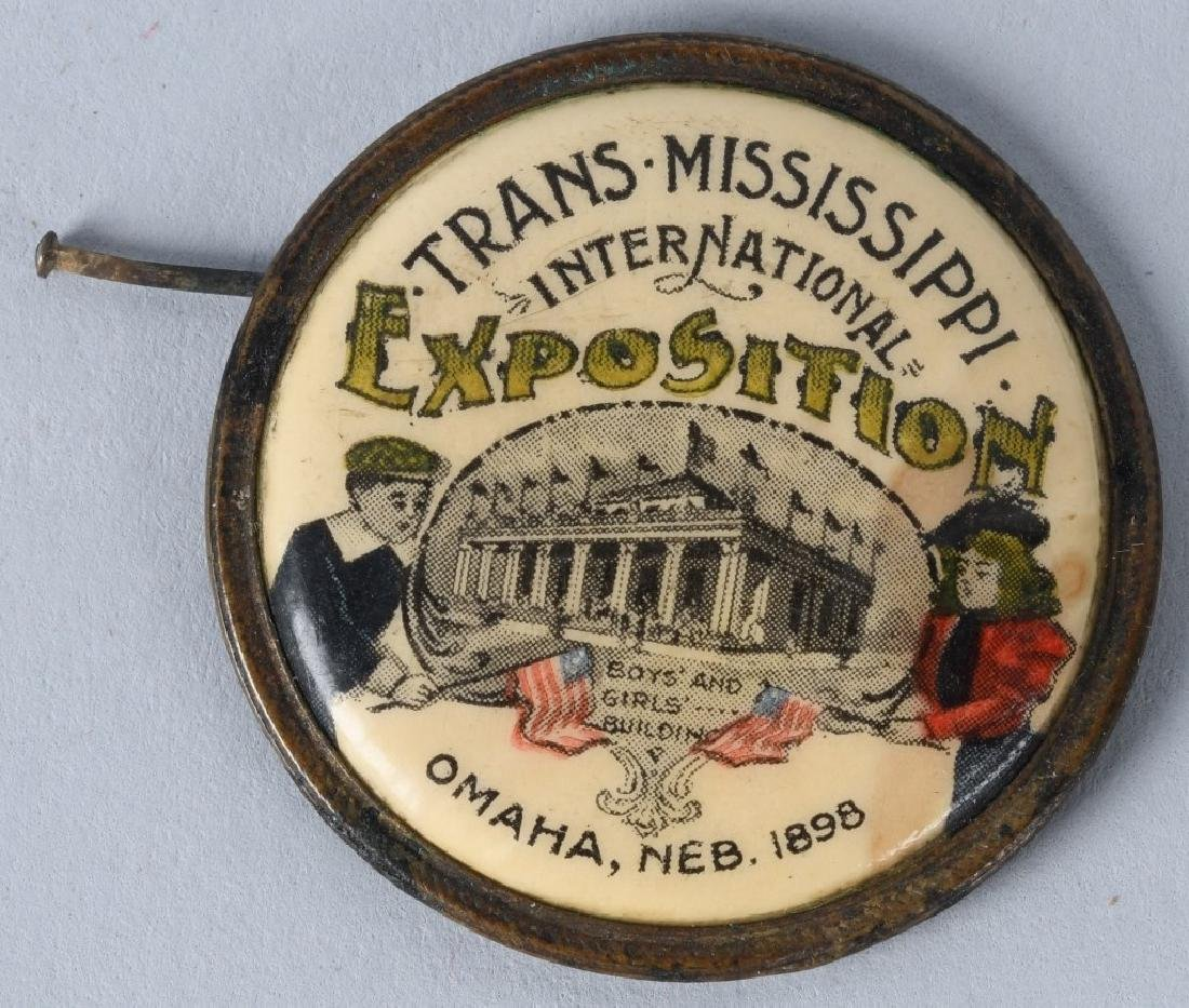 LEWIS & CLARK EXPOSITION BUTTONS & MORE - 7