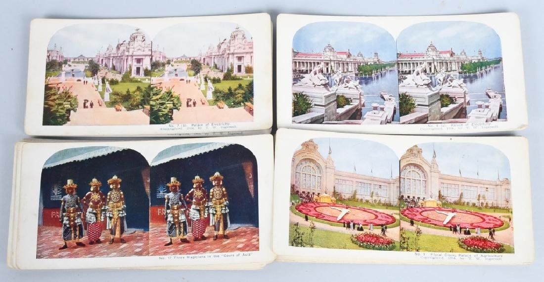 90- 1904 ST LOUIS EXPOSITION STEREOVIEW CARDS - 3