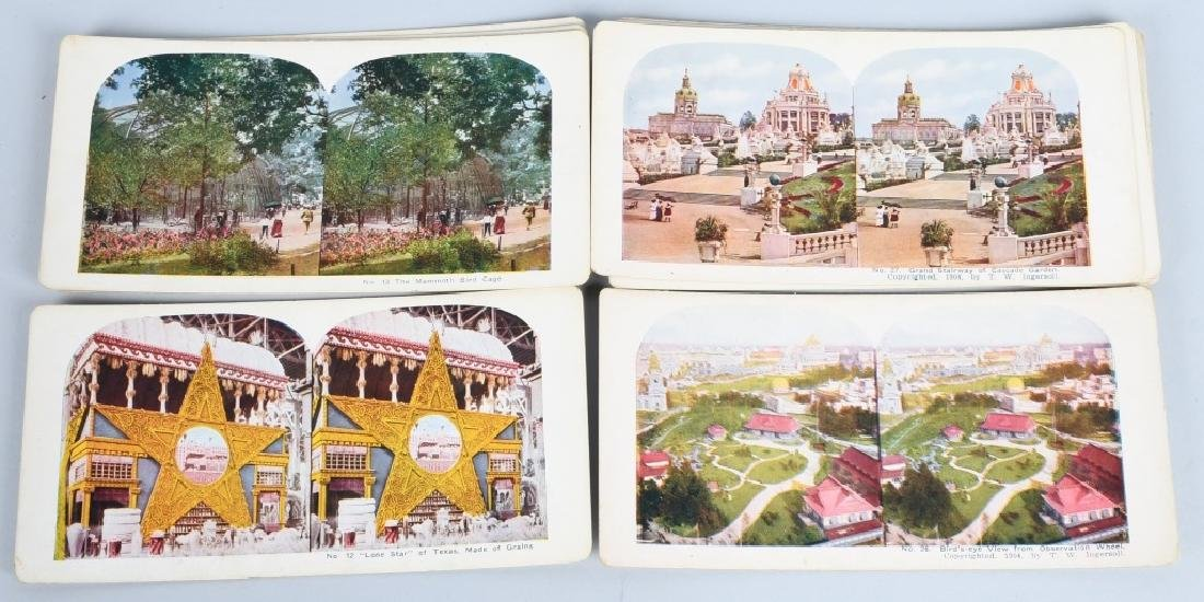 90- 1904 ST LOUIS EXPOSITION STEREOVIEW CARDS - 4