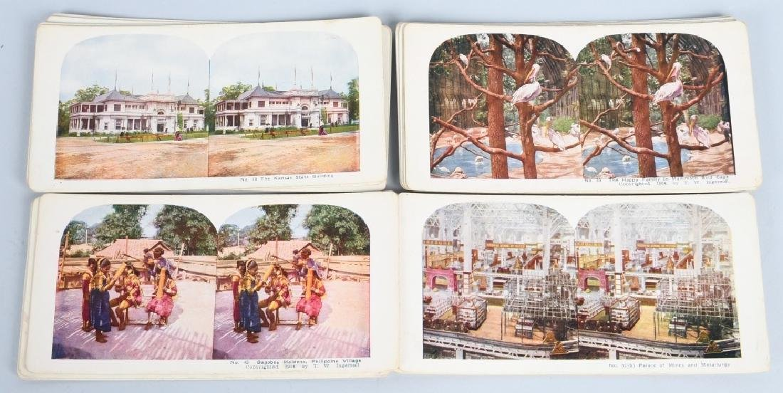90- 1904 ST LOUIS EXPOSITION STEREOVIEW CARDS - 5
