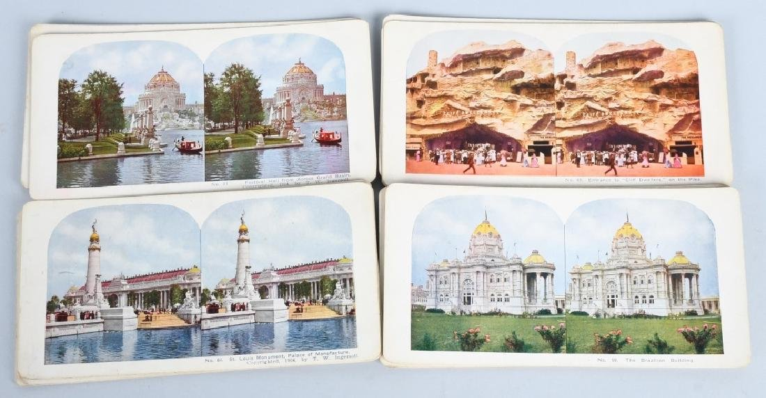 90- 1904 ST LOUIS EXPOSITION STEREOVIEW CARDS - 7