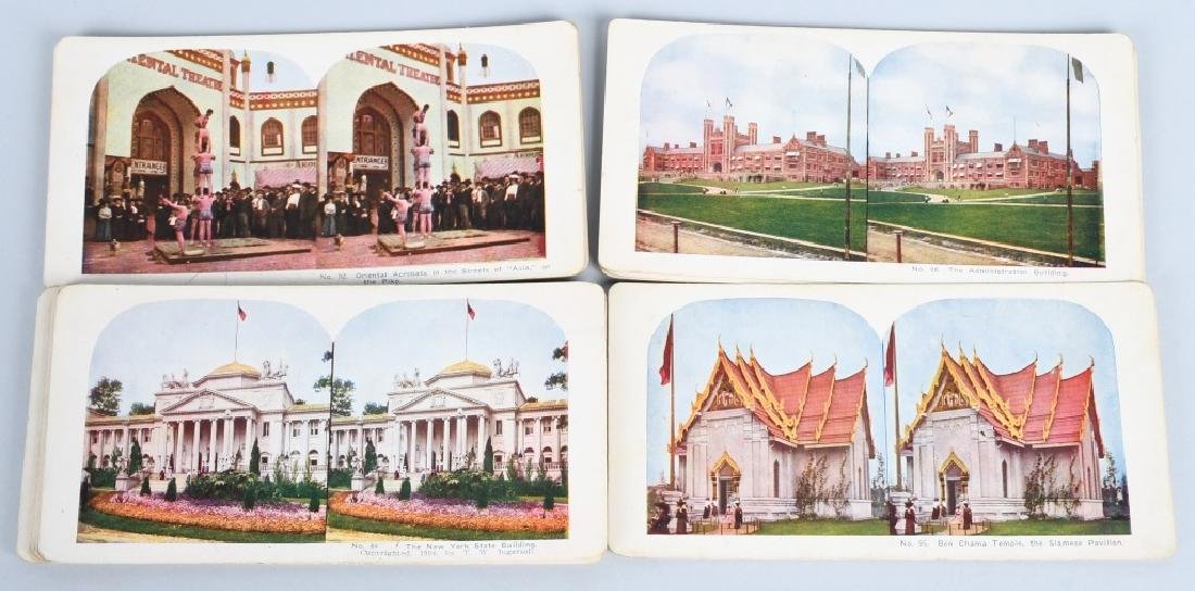 90- 1904 ST LOUIS EXPOSITION STEREOVIEW CARDS - 8