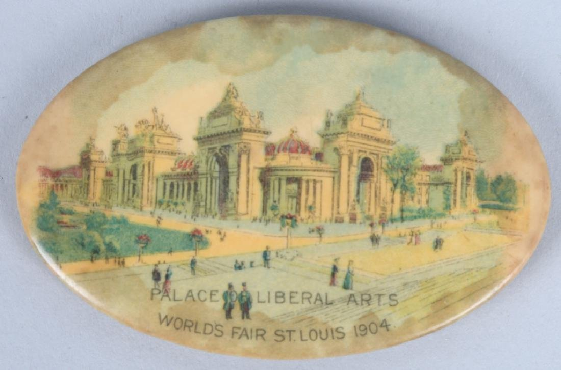 3- 1904 ST LOUIS EXPOSITION POCKET MIRRORS - 2