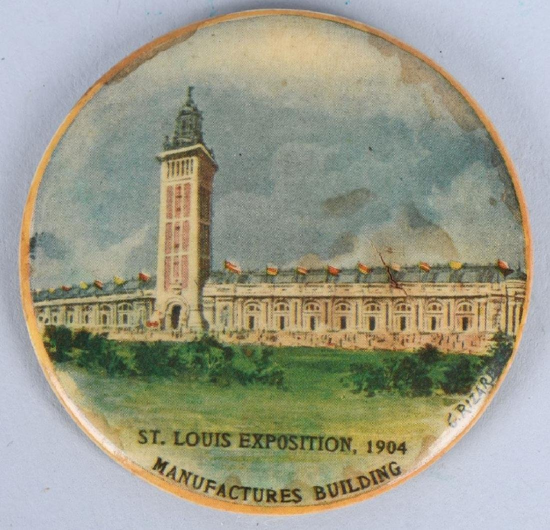 3- 1904 ST LOUIS EXPOSITION POCKET MIRRORS - 3