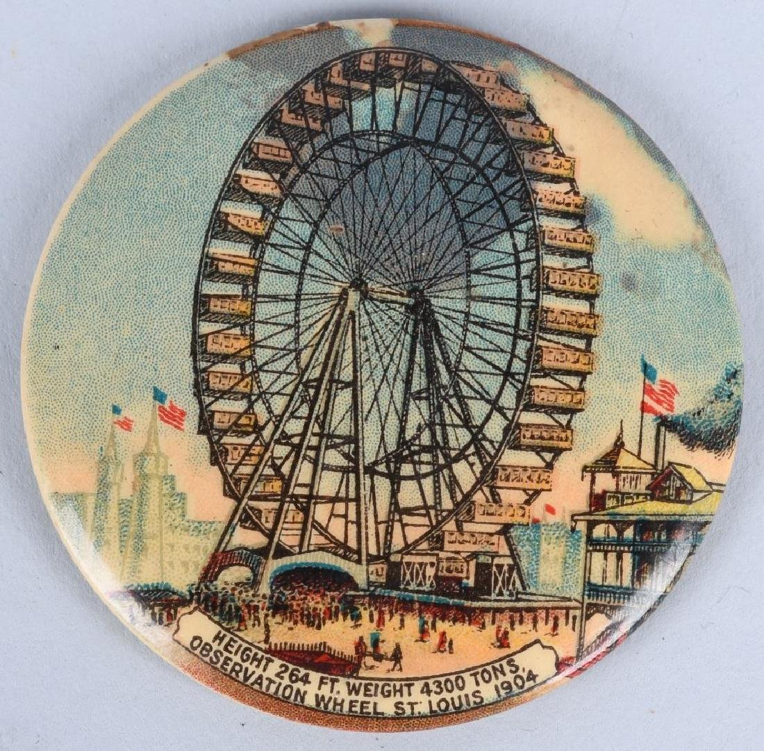 3- 1904 ST LOUIS EXPOSITION POCKET MIRRORS - 4