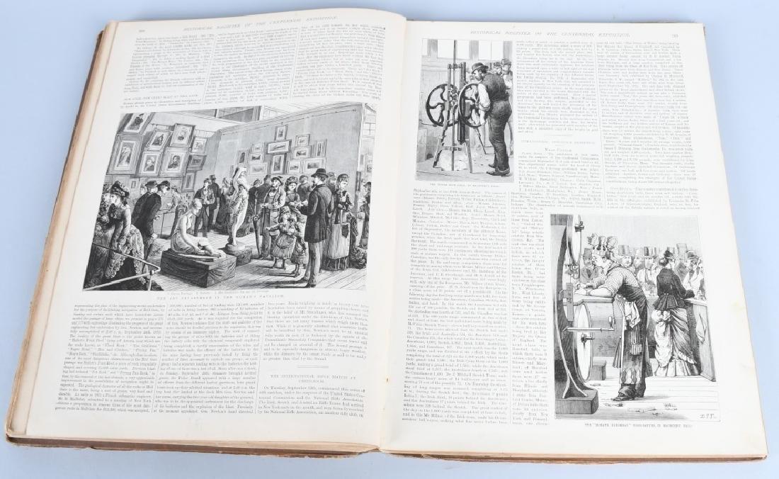 FRANK LESLIE 1876 CENTENNIAL HISTORICAL REGISTER - 10