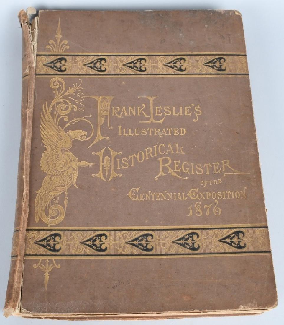 FRANK LESLIE 1876 CENTENNIAL HISTORICAL REGISTER