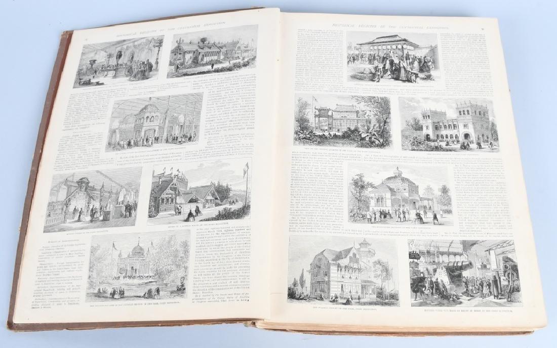 FRANK LESLIE 1876 CENTENNIAL HISTORICAL REGISTER - 3