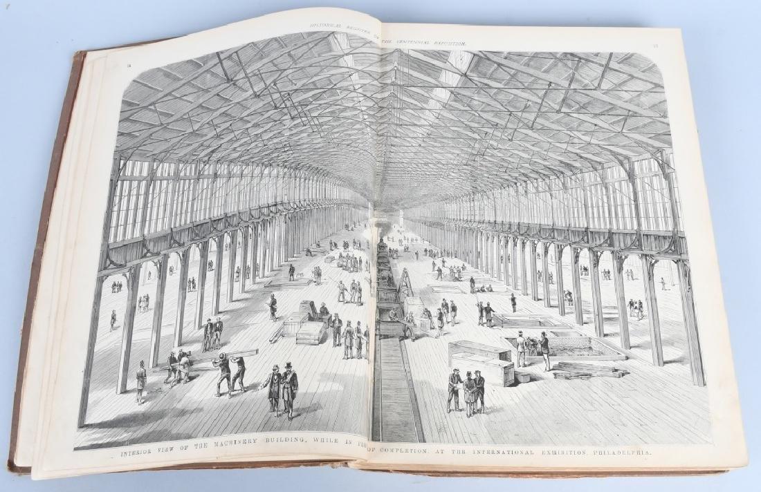 FRANK LESLIE 1876 CENTENNIAL HISTORICAL REGISTER - 4