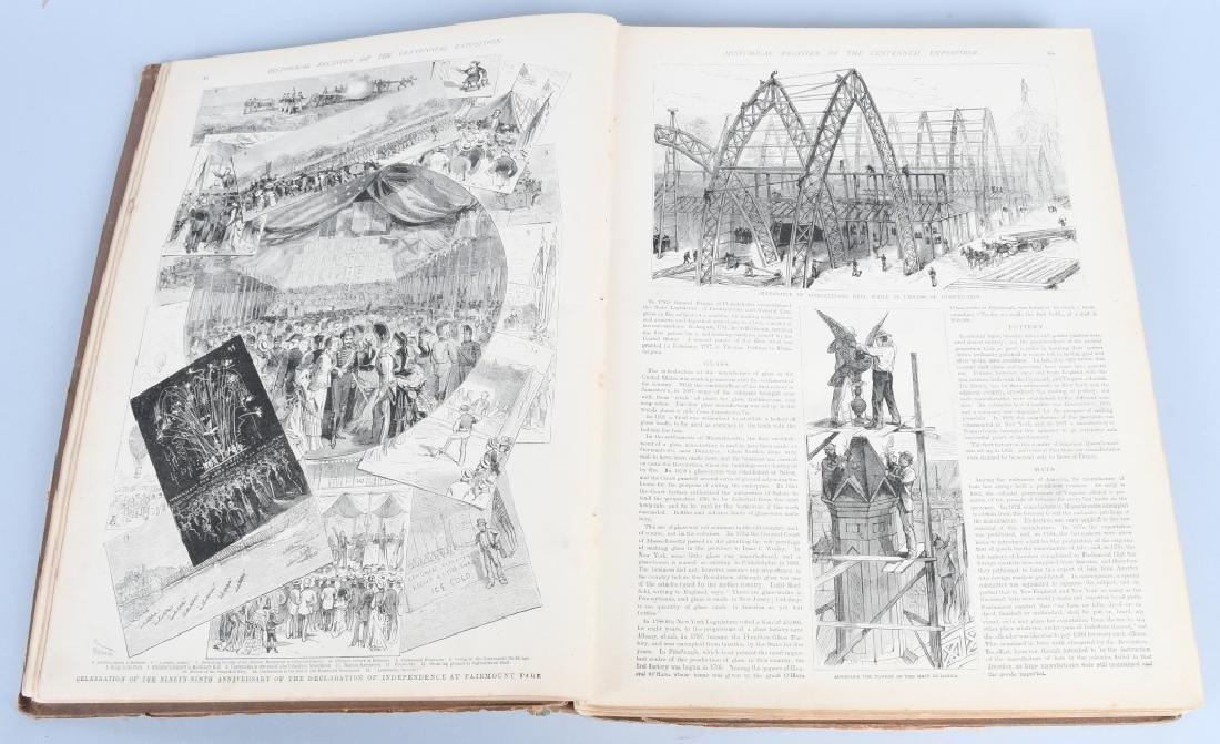 FRANK LESLIE 1876 CENTENNIAL HISTORICAL REGISTER - 5