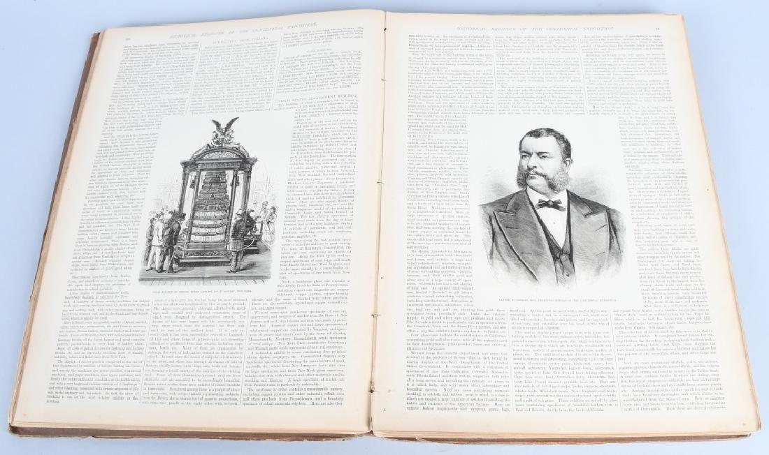 FRANK LESLIE 1876 CENTENNIAL HISTORICAL REGISTER - 6