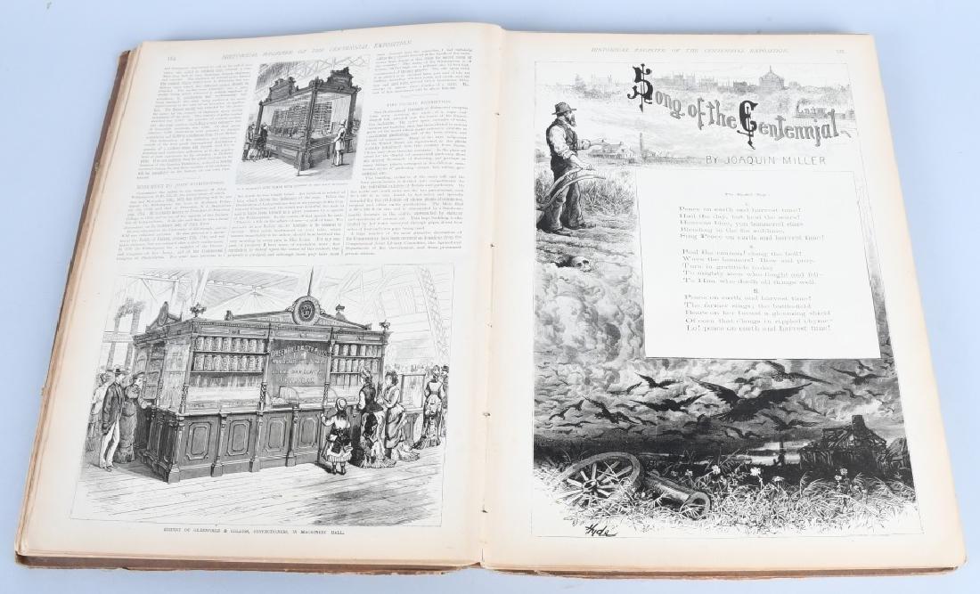 FRANK LESLIE 1876 CENTENNIAL HISTORICAL REGISTER - 7