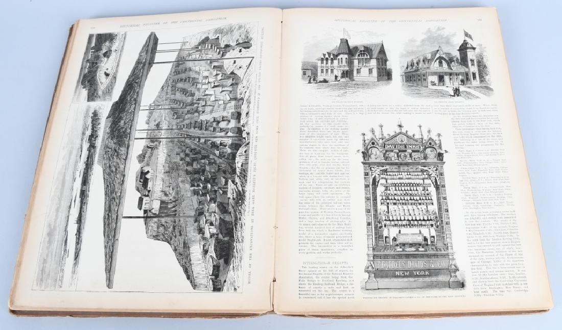 FRANK LESLIE 1876 CENTENNIAL HISTORICAL REGISTER - 8